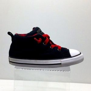 Infants Converse laced slip-ons